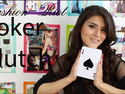 DIY Poker Clutch  | Fashion Riot