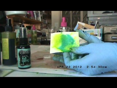 Dylusions by Ranger Spray Ink Review