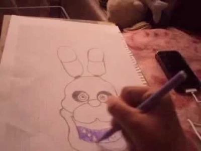 Five Nights At Freddy's  Bonnie dibujo