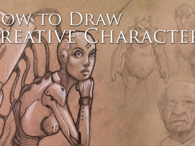 How I Draw Creative Characters