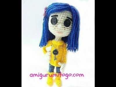 How To Crochet A Coraline Doll (part one)