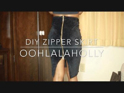 How to Make a Zipper Skirt