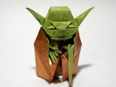 Origami Giveaway #8 - Jedi Master Yoda (Fumiaki Kawahata)