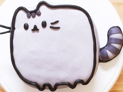 PUSHEEN CAT CAKE - NERDY NUMMIES