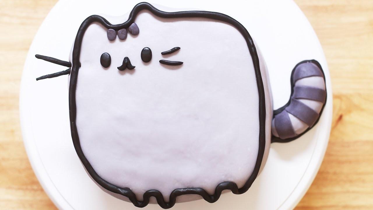 PUSHEEN CAT CAKE - NERDY NUMMIES