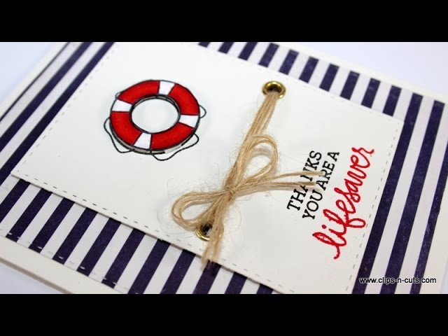 SSS July Card kit 2015 | You are a lifesaver