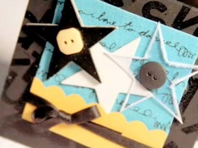 Star Trio - Make a Card Monday #40