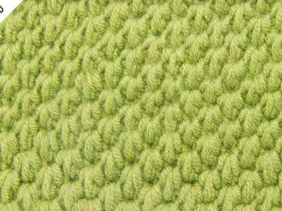 The Tunisian Ocean Stitch:: Tunisian Crochet Stitch #12 :: Left Handed