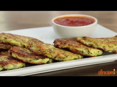 Zucchini Recipes - How to Make Zucchini Patties
