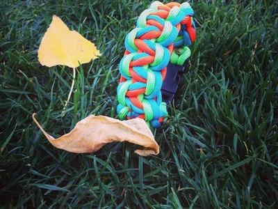 """""""3-Colored Queen Cobra"""" Paracord Bracelet"""