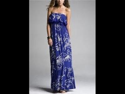 DIY: Maxi dress(SEWING)