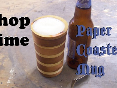 How To Make A Beer Mug From Recycled Coasters