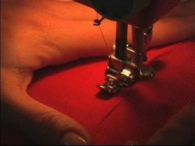 How to Make a Flared Skirt : How to Sew a Zipper on a Skirt: Part 3