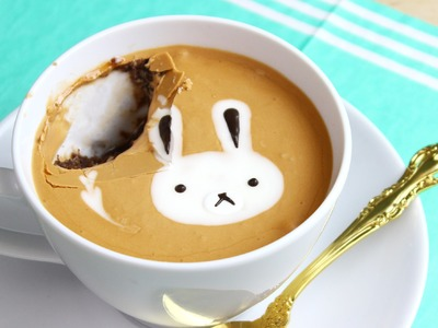 How to Make a Latte Art Mug Cake!