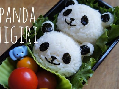 How to Make Cute Panda Onigiri