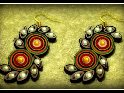 How to make Quilled Earrings - Part 2