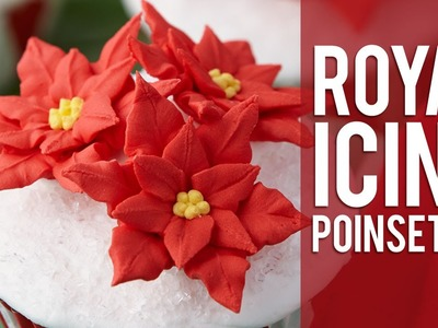 How to Pipe a Poinsettia Flower