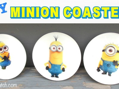 Minion Coasters DIY Another Coaster Friday Craft Klatch
