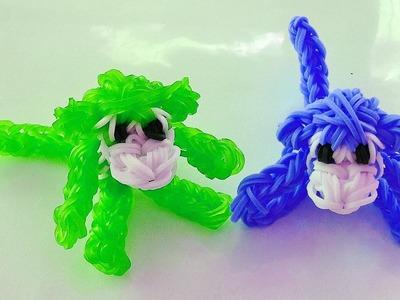 Rainbow Loom Singe Animaux en Elastique  (Loom bands Francais, Bracelet Elastique)