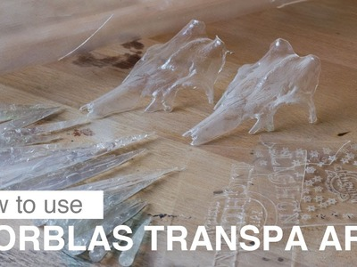 Worblas Transpa Art - How to use