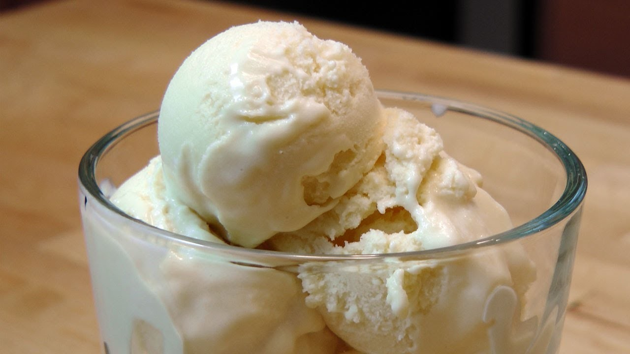 Homemade Vanilla Gelato - Recipe by Laura Vitale - Laura in the Kitchen Episode 157