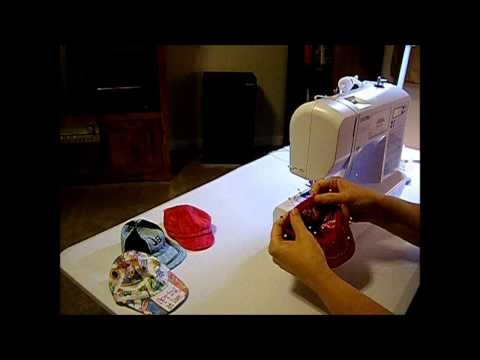 How to Make a Doll Baseball Cap Part 6