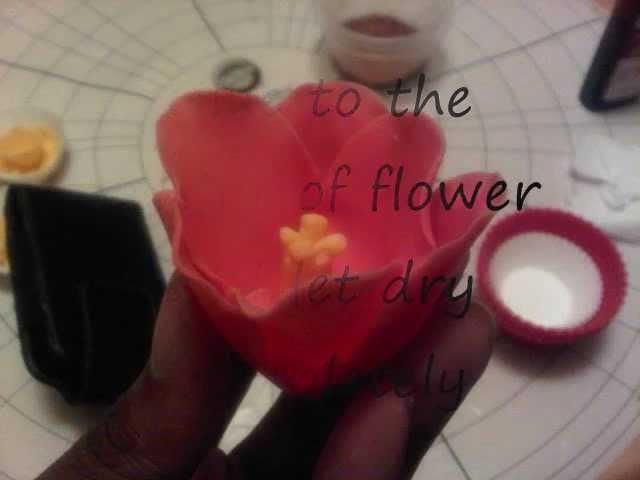 How to make a Fondant Tulip