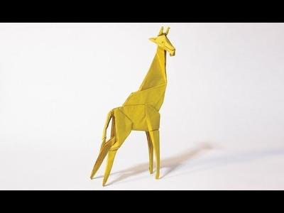 How to make an origami Giraffe