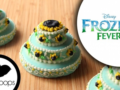 How to Make Frozen Fever : Princess Anna Birthday Cake Cookies