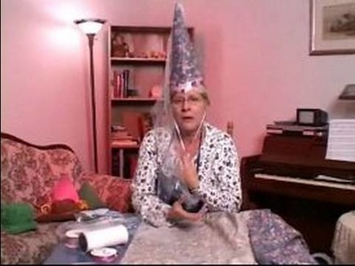 How to Make Party Hats : How to Make a Paper Maid Marian Hat