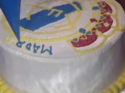 How to Make Real Madrid Cake Logo Homemade