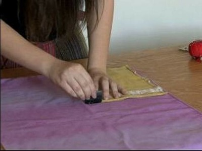 How to Sew Handmade Purses : Measuring the Liner for Handmade Purses