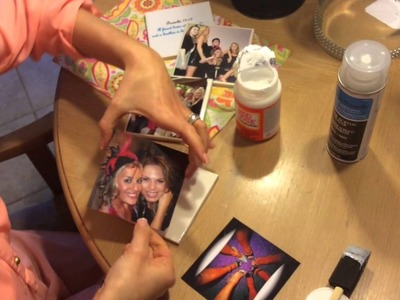 How to with Halley- DIY Photo Coasters