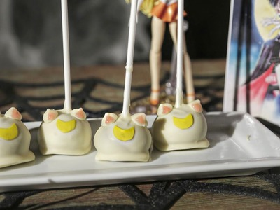 Sailor Moon Cake Pops (Artemis) | Cooking
