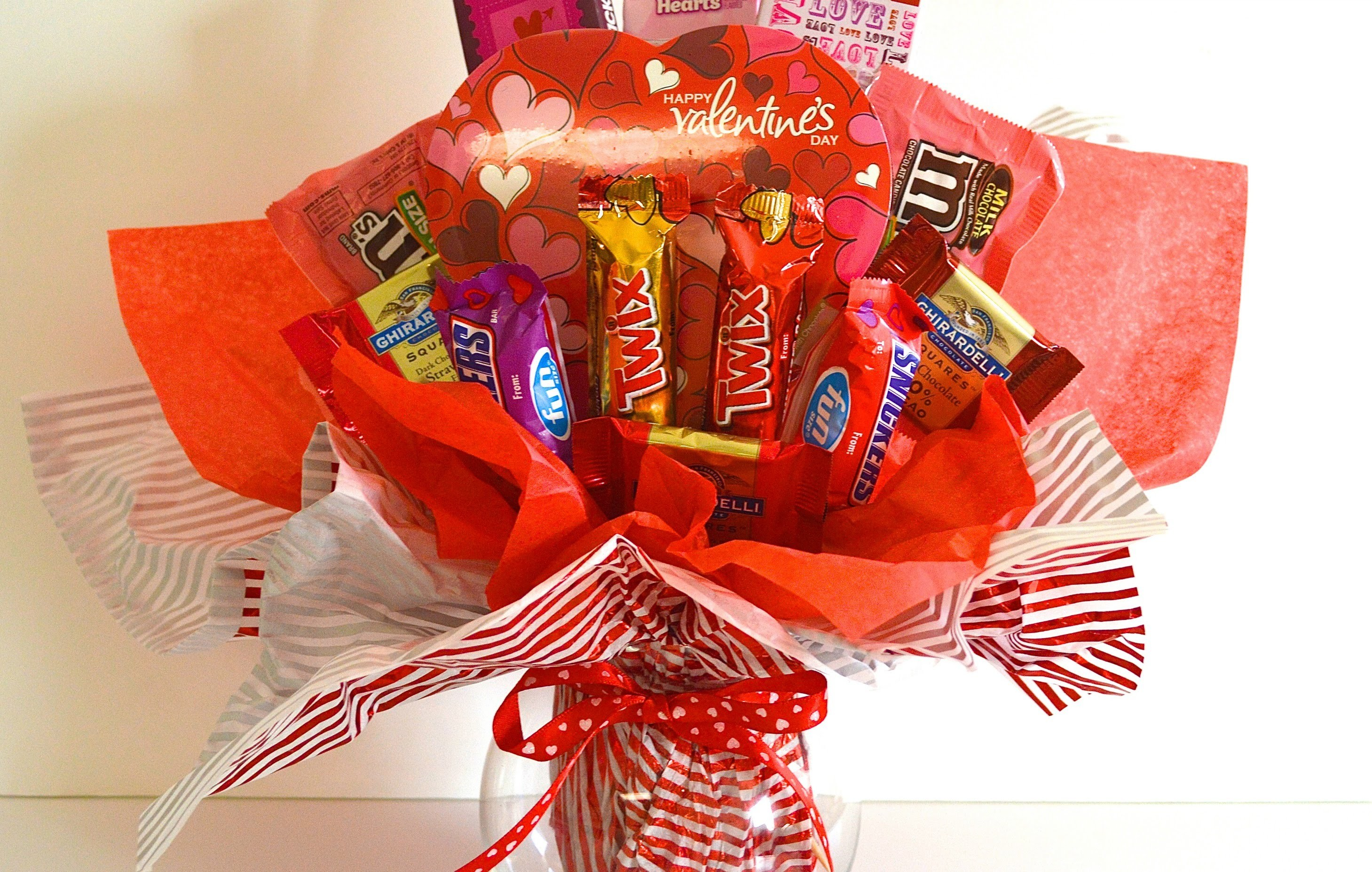 Valentine Candy Bouquet Tutorial