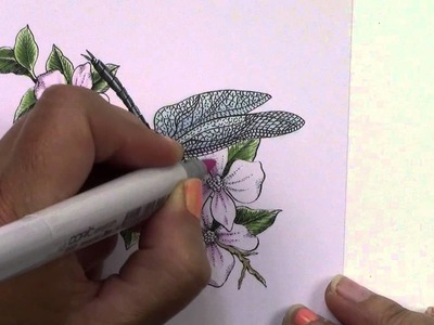 Copic in the Craft Room: Mother Day Card Project (2015)