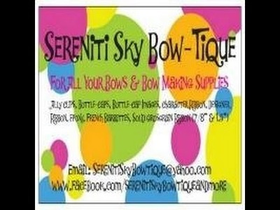 Craft Haul #5 Sereniti Sky Bow-Tique