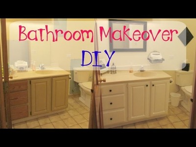 Garbage to Gorgeous Episode #8:  Bathroom Makeover On A Budget DIY Craft Klatch