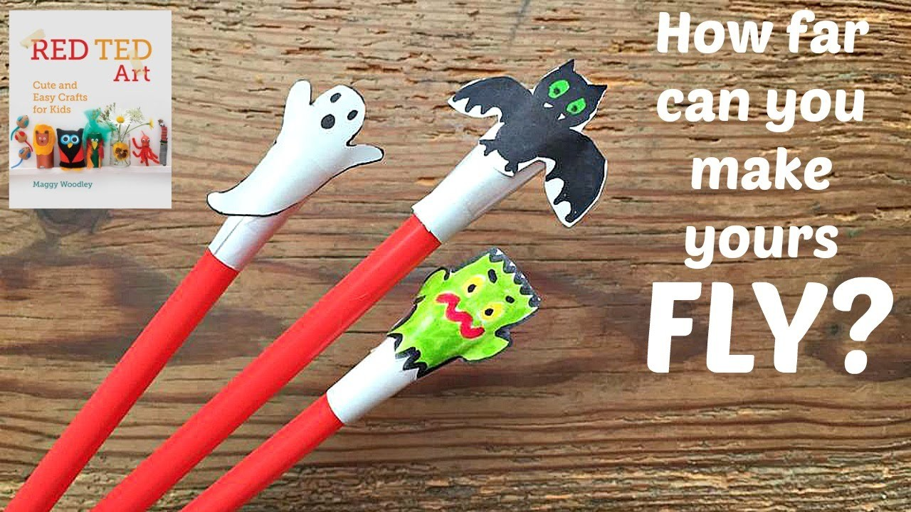 Halloween Crafts - Cute Shooter Craft & Activity