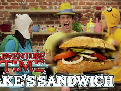 How to make JAKE'S SANDWICH from Adventure Time - Feast of Fiction S3 Ep13