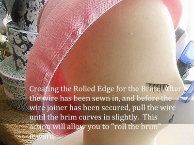 Couture Sculptural.Free-Form Millinery: Part 2 - The Tutorial