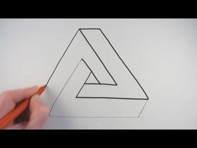 How to Draw an Impossible Triangle in a Very Simple Way
