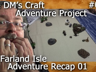 Island Adventure for Table Top RPG (The DM's Craft, Adventure Project #006)