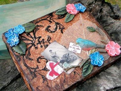 Love Letter Keepsake Box with Plasty Craft 2