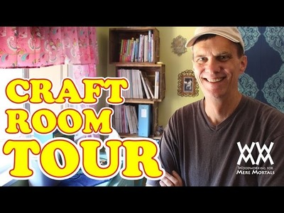Mere Mortals Craft Room Tour