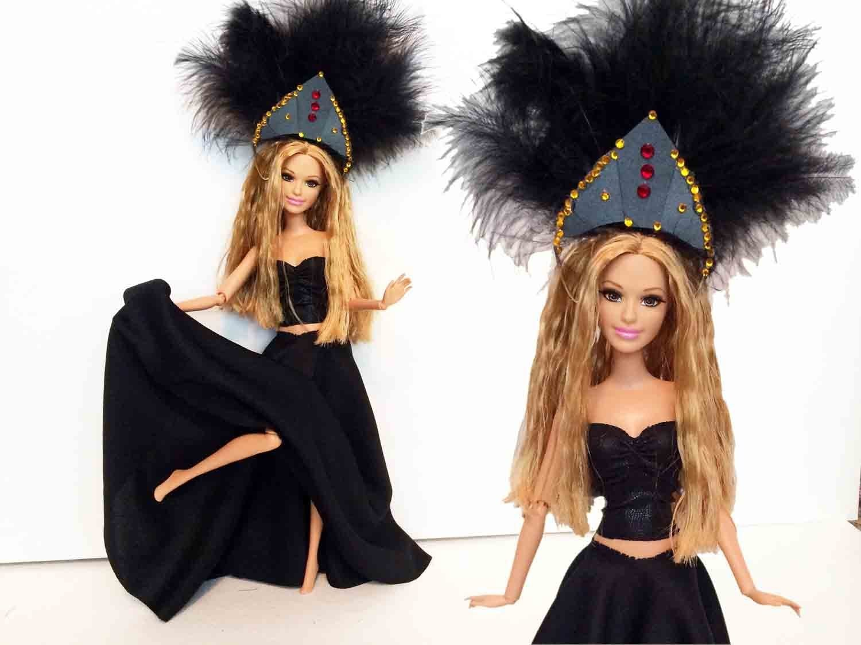 Shakira La La La (Brazil 2014) Doll Tutorial - How to make a Shakira Doll
