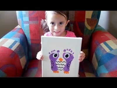 TODDLER OWL CRAFT!