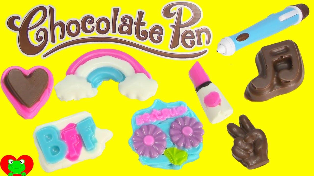 Chocolate Pen Candy Kids Craft BFF Treats