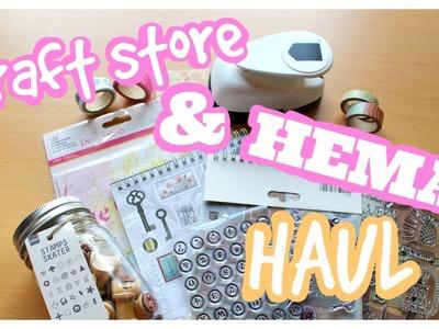 Craft store & Hema haul + GIVEAWAY(closed)!