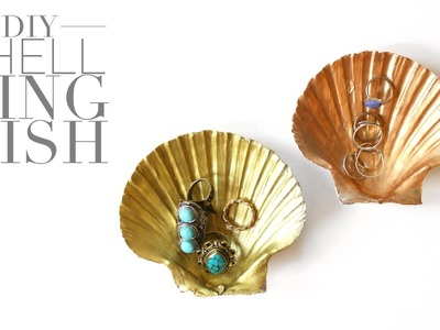 DIY Shell Ring Dish | Easy Craft Idea